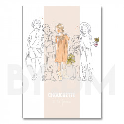 Chouquette - coloring book