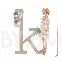 K ilustrado
