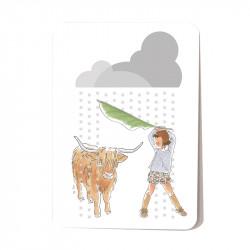 Yack in the rain