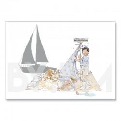 pequeño marinero
