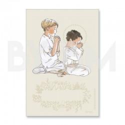 En unión de oración - chico