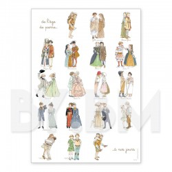 The costumes from age to age
