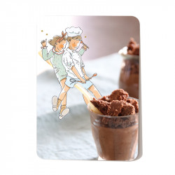 Crispy chocolate mousse x...