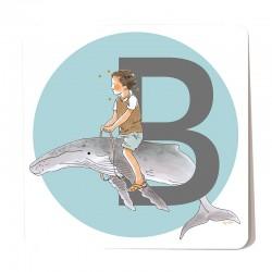 B illustré - garçon
