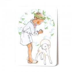 Divine Lamb - Blond hair