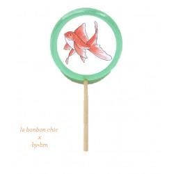 Sucette poisson rouge x le...