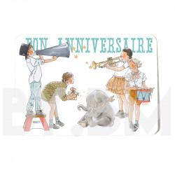 Birthday invitation - circus