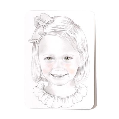 Portrait personnalisé sur commande